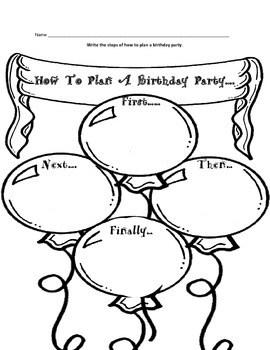 Birthday Writing Prompts { Set of 3 } FREEBIE by Heather J