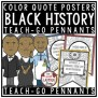 Black History Month Quotes Black History Month Activities