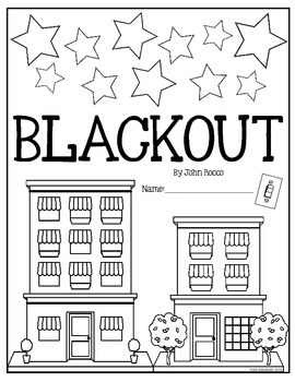Blackout by John Rocco: Reading response activity