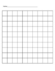 Blank  chart also teaching resources teachers pay rh teacherspayteachers