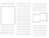 Editable Brochure Template Worksheets & Teaching Resources