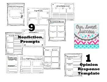 Blogging for Little Learners AND Reading Response Sheets