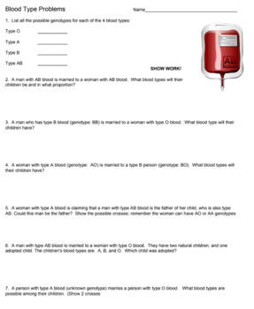 Blood Typing Internet Activity Answer Key - PDF Free Download