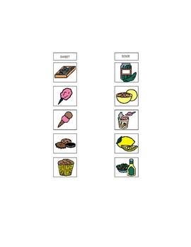Boardmaker Printable Attribute Categorization Activity by