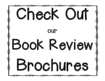 Book Review Brochure Template {Opinion Writing!} by