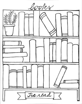 Books I've Read Graphic Organizer Printable by Brooke