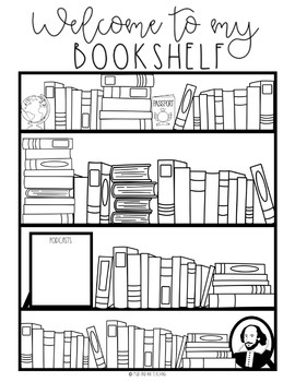 Bookshelf Reading Log (An Interactive Book Record Keeper