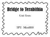 Bridge To Terabithia Chapter Tests Worksheets & Teaching