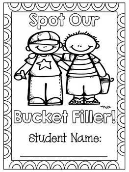 Bucket Filler of the Week Book by Darlin' Little Learners