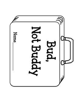 Bud, Not Buddy Lapbook. Interactive Notebook Writing