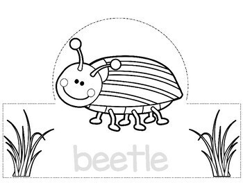Bug and Insect Hats for your Bug Unit / End of the Year