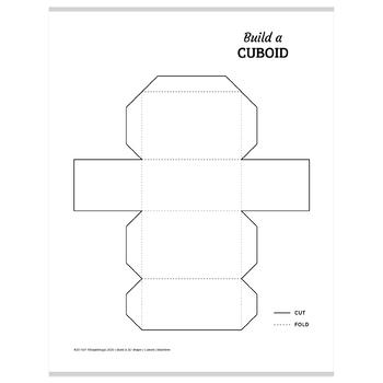 Build a 3D cuboid