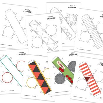 Build a 3D cylinder
