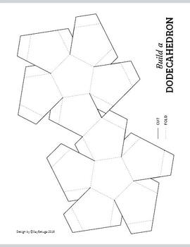 Build a 3D dodecahedron