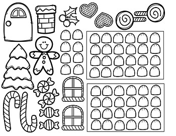 Build-a-Gingerbread House Activity: Paper Bag Craft by
