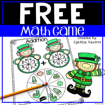Leprechaun Math Game   St. Patrick's Day Math Game