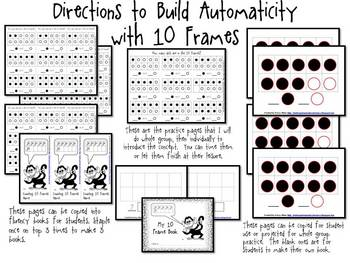 Building Automaticity With Ten Frames Kindergarten Mini