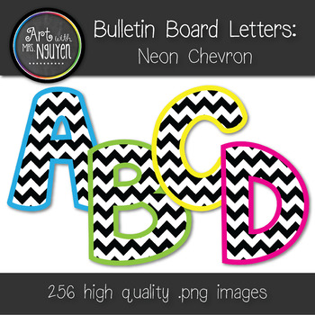 Chevron Bulletin Board Letters Printable Letternew Co