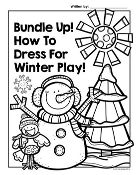 Bundle Up: A winter procedural writing activity for Grades