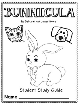 Bunnicula Student Comprehension Study Guide by Coast 2