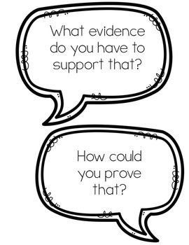 Common Core Accountable Talk Cards by School Days with