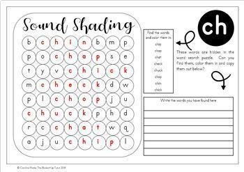 {consonant digraphs word search} {phonics word searches
