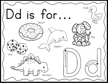 Zoo Phonics Alphabet Sounds Letter Coloring Book