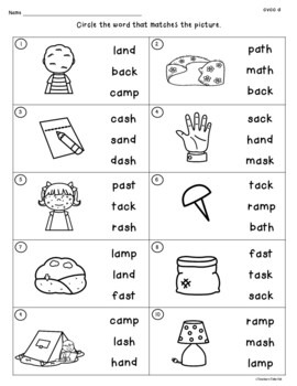 Cvcc Worksheets To Identify Read Write And Rhyme By