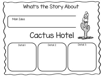 Cactus Hotel ~ 44 pgs. Common Core Activities by Fun to