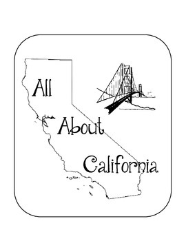 California Lapbook/Interactive Notebook. Geography. US