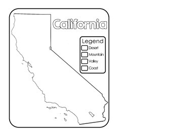 California Regions and Resources: Interactive Notebook
