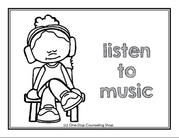 Calm Down Posters & Coloring Pages by One-Stop Counseling