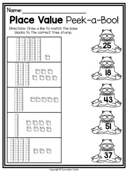 Camping First (1st) Grade Math & Literacy Printables by