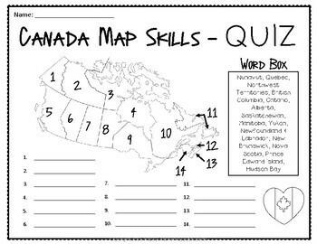 Canada Map Quiz_