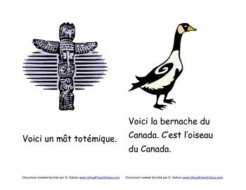 Livre sur les symboles du Canada /Canadian symbols