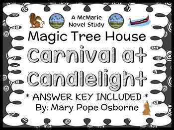 Carnival at Candlelight : Magic Tree House #33 Novel Study