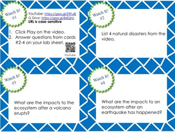 Catastrophic Events and Natural Disasters Student-Led
