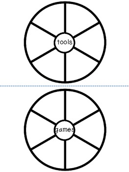 Category Word Wheels for Vocabulary Development {FREEBIE