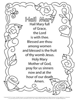 Catholic Prayer Coloring Pages! Super Mega Packet with 16