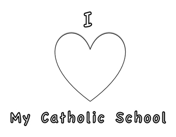 Catholic Schools Week- Coloring Page by The Catholic
