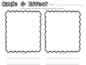 Cause + Effect Activities by Michelle and the Colorful