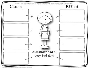 Cause & Effect {Alexander and the Terrible, Horrible, No