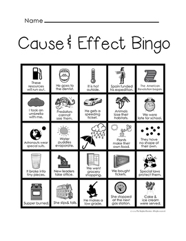Cause and Effect Activities Bundle by The Brighter