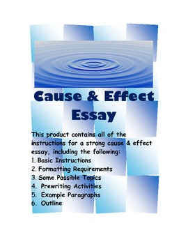 Cause Effect Essay Samples Care Health Job Professional Resume Essay