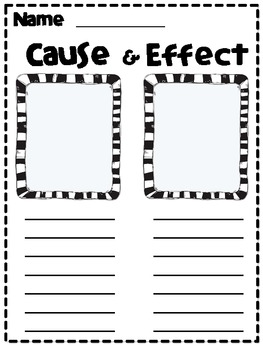 Cause and Effect Jar for Workstations and Centers by Aimee