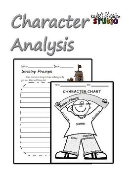 Character Analysis Activities by Kaylee's Education Studio