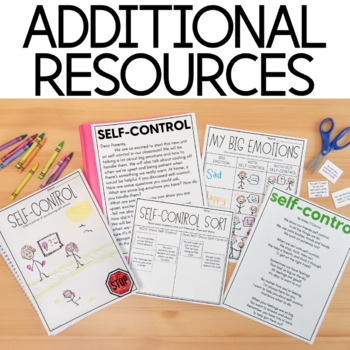 Character Education: Self-Control {Lesson Plans and