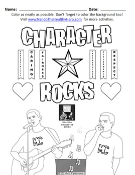 Character Rocks (Character Education Songs) by Nando The