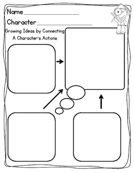 Character Study {Graphic Organizers & Reading Response} by