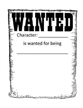 Character Traits Teaching Packet by Dana Hoover's Creative